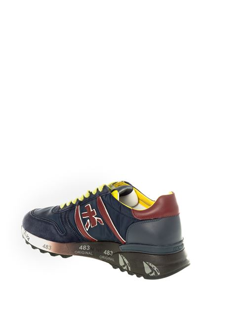 Premiata sneaker lander blu/bordeaux PREMIATA | Sneakers | LANDERCAM/TES-4947