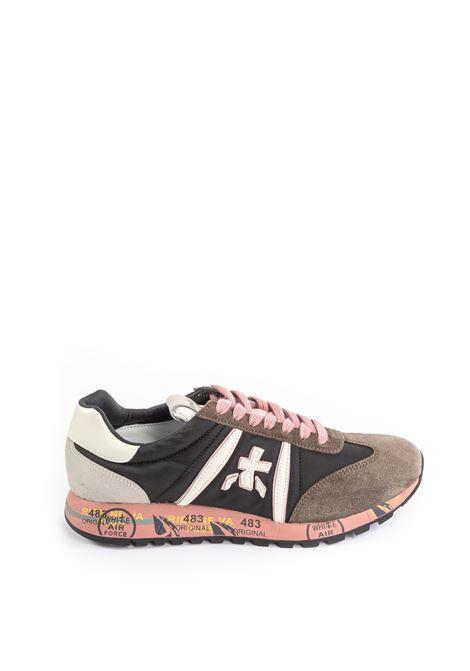 Premiata sneaker lucy grigio/rosa PREMIATA | Sneakers | LUCYCAM/TES-4913
