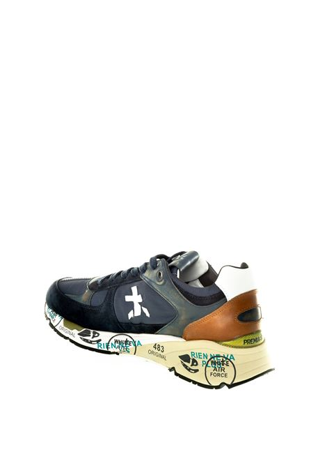 Premiata sneaker mase blu PREMIATA | Sneakers | MASECAM/TES-3927