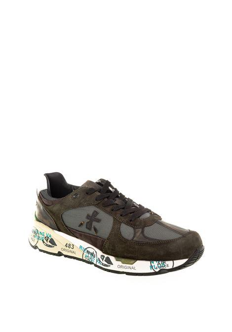 Premiata sneaker mase verde PREMIATA | Sneakers | MASECAM/TES-4005