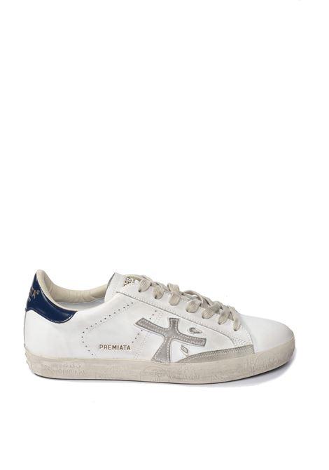 Premiata sneaker steven bianco/blu PREMIATA | Sneakers | STEVENPELLE-4873