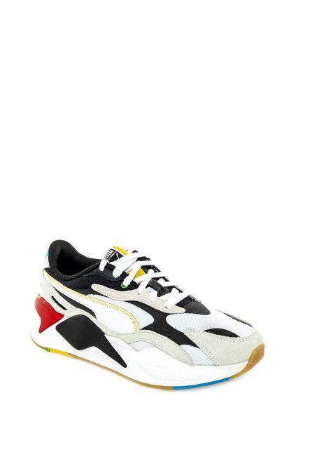 Puma sneaker Rsx bianco/nero PUMA | Sneakers | 373308RSX WH-01