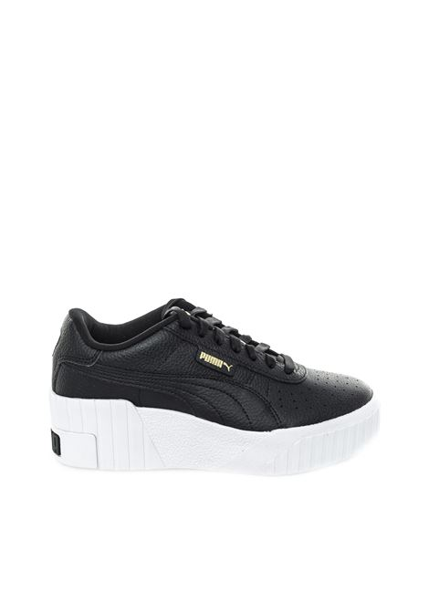 Puma sneaker cali wedge nero PUMA | Sneakers | 373438CALI WEDGE-02