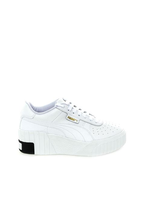 Puma sneaker cali wedge bianco PUMA | Sneakers | 373438CALI WEDGE-03