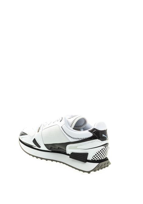 Puma sneaker Mile rider bianco PUMA | Sneakers | 373443MILE-05