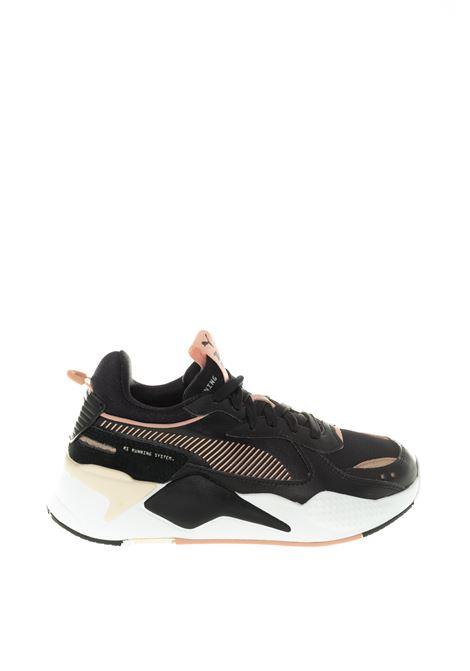 Puma sneaker Rsx mono nero/rosa metal PUMA | Sneakers | 374669RSX MONO-01