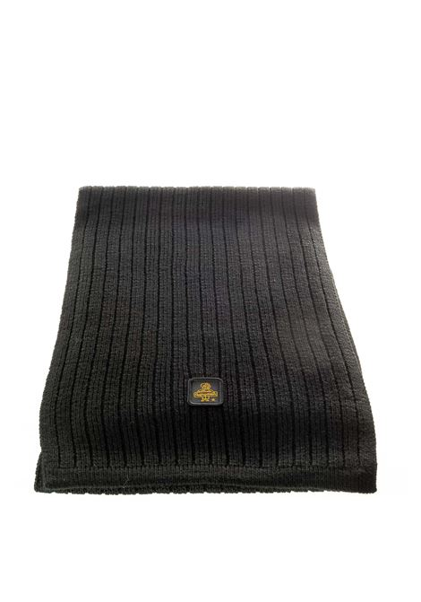 Refrigiwaer sciarpa lana nero REFRIGIWEAR | Sciarpe | B11600LANA-C06000
