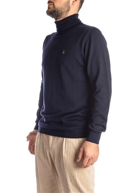 Maglione collo alto lana blu REFRIGIWEAR | Maglieria | M25700LANA-F03700