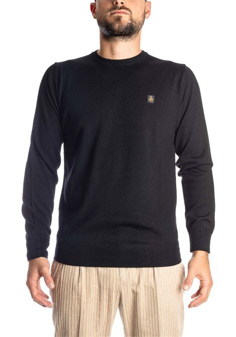 Maglione lana nero REFRIGIWEAR | Maglieria | M26900LANA-G06000