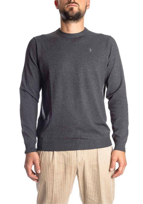 Maglione basic yarn grigio REFRIGUE | Maglieria | 40568BASIC YARN-11080