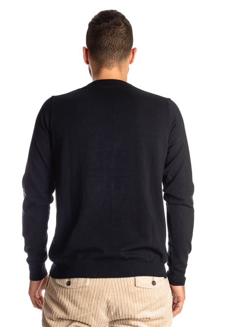 Maglione basic yarn blu REFRIGUE | Maglieria | 40568BASIC YARN-125