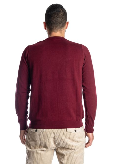 Maglione basic yarn bodeaux REFRIGUE | Maglieria | 40568BASIC YARN-433