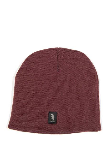 Cappello logo bordeaux REFRIGUE | Cappelli | 85122LANA-023