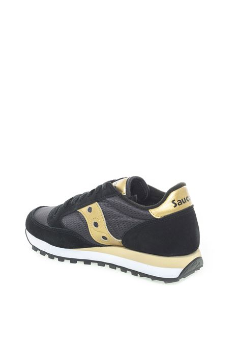 SAUCONY SNEAKER JAZZ NERO/ORO SAUCONY | Sneakers | 1044JAZZ-521