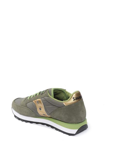 Sneaker Jazz verde/oro SAUCONY | Sneakers | 1044JAZZ-535