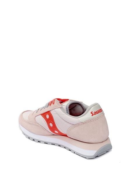 Jazz camoscio/nylon cipria/arancione SAUCONY | Sneakers | 1044JAZZ-565