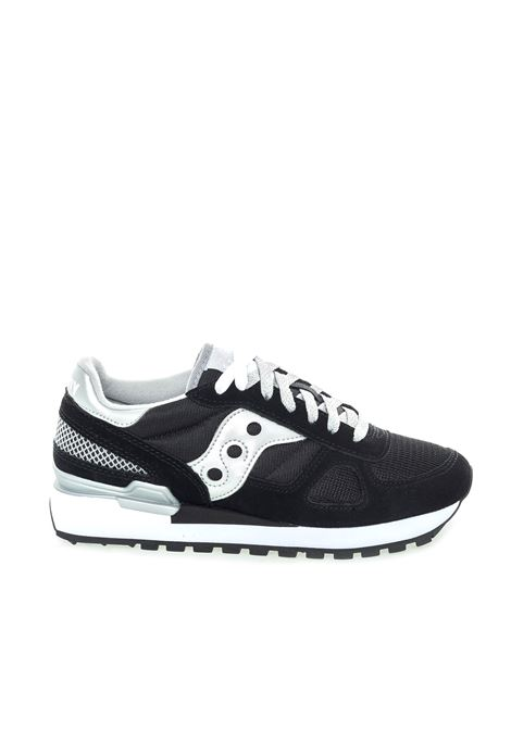 SAUCONY SNEAKER SHADOW NERO/ARGENTO SAUCONY | Sneakers | 1108SHADOW-671