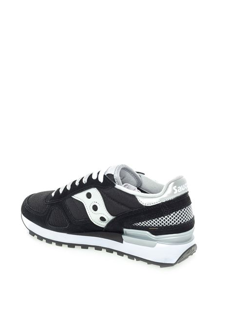 Shadow camoscio/mesh nero/argento SAUCONY | Sneakers | 1108SHADOW-671