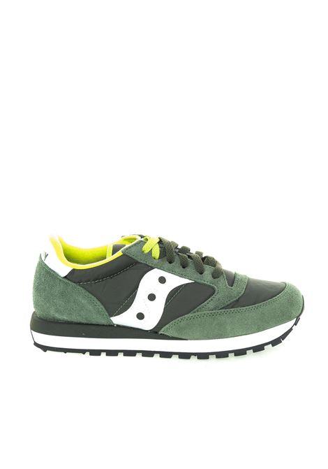Jazz camoscio/nylon verde/bianco SAUCONY | Sneakers | 2044JAZZ-275