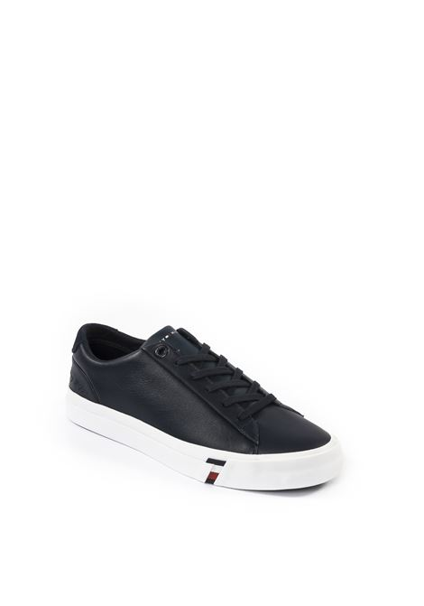 Sneaker flag blu TOMMY HILFIGER | Sneakers | 2983PELLE-BLU