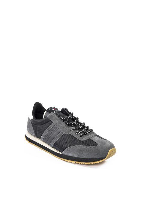 Sneaker camoscio grigio TOMMY HILFIGER | Sneakers | 3004TES/CAM