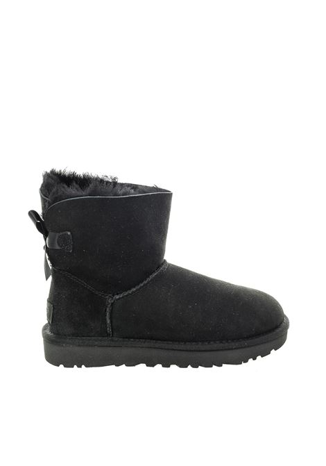 Ugg mini bailey bow nero UGG | Tronchetti | MINI BAILEY BOWMONT-BLACK
