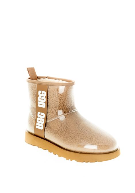 Ugg mini clear cuoio UGG | Tronchetti | MINI CLEARMONT-CHESTNUT