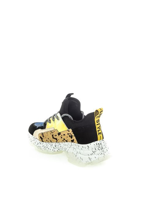 Sneaker animalier multicolor UMA PARKER NEW YORK | Sneakers | 1210220CAM/TESS-BEIGE