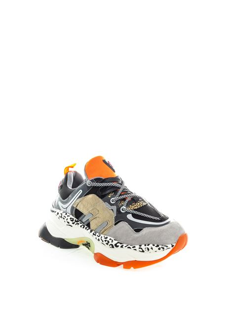 Sneaker metal nero multicolor UMA PARKER NEW YORK | Sneakers | 1300220CAM/TES-BLACK
