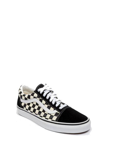 Sneaker old skool scacchi bianco/nero VANS | Sneakers | VN0A38G1P0S1OLD SKOOL-BLK/WHI