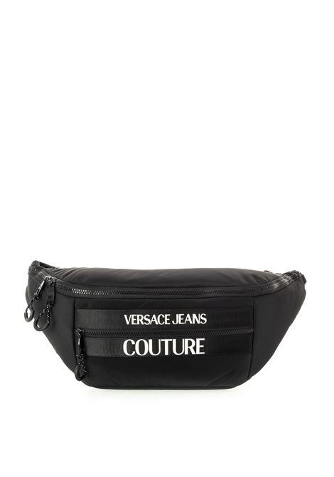 Versace jeans couture marsupio nylon nero VERSACE JEANS COUTURE | Marsupi | B6371593-899