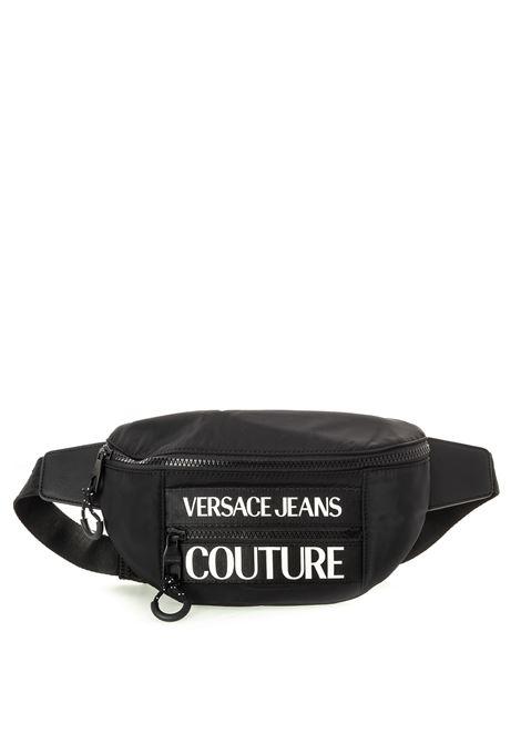 Versace jeans couture marsupio mini nero VERSACE JEANS COUTURE | Marsupi | B6871593-899