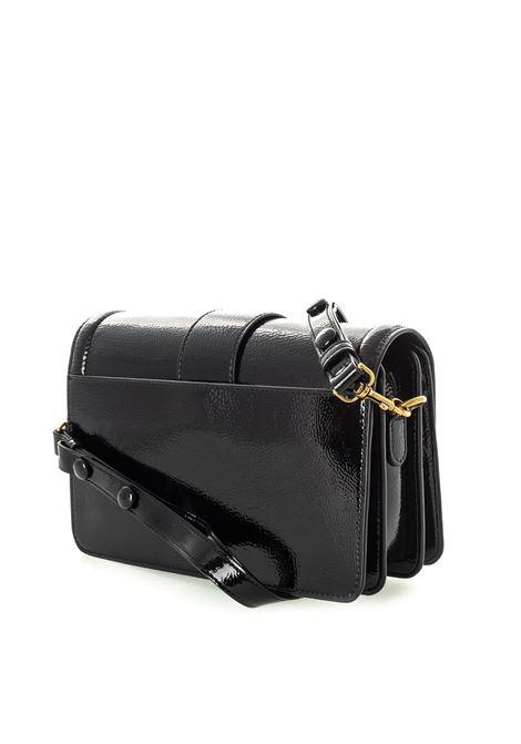 Versace Jeans Couture fibbia vernice nero VERSACE JEANS COUTURE   Borse mini   BBM771853-899