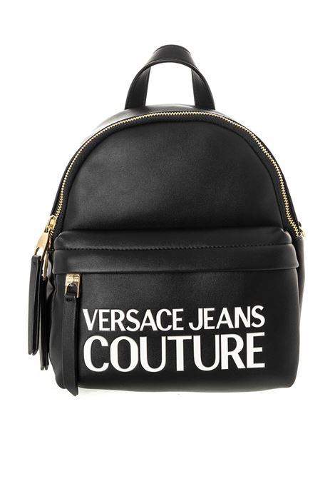Versace jeans couture zaino vernice nero VERSACE JEANS COUTURE | Zaini | BP471413-899