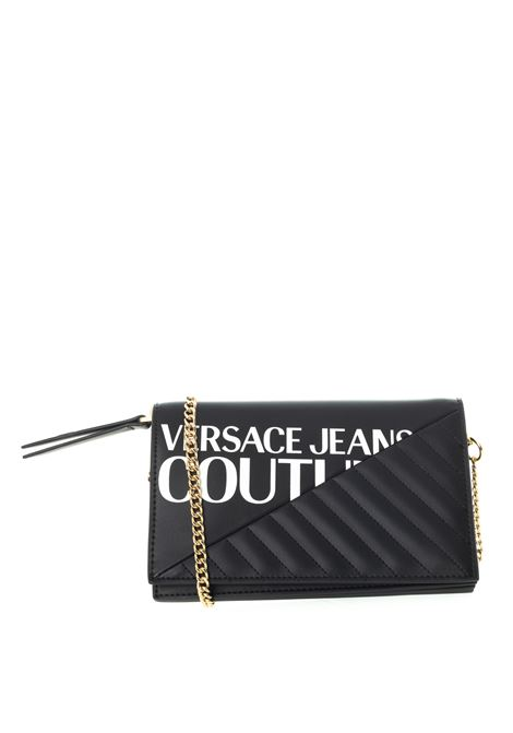 Versace jeans couture pochette chevronne nero VERSACE JEANS COUTURE   Borse mini   BPG671728-899