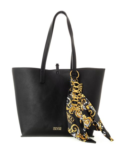 Versace jeans couture shopping foulard nero VERSACE JEANS COUTURE   Borse a spalla   BY171574-899
