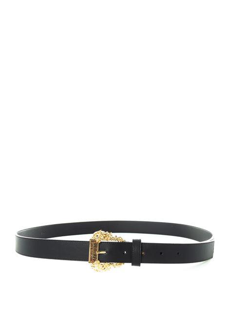 Versace jeans couture cintura nappa nero VERSACE JEANS COUTURE | Cinture | F0171627-899