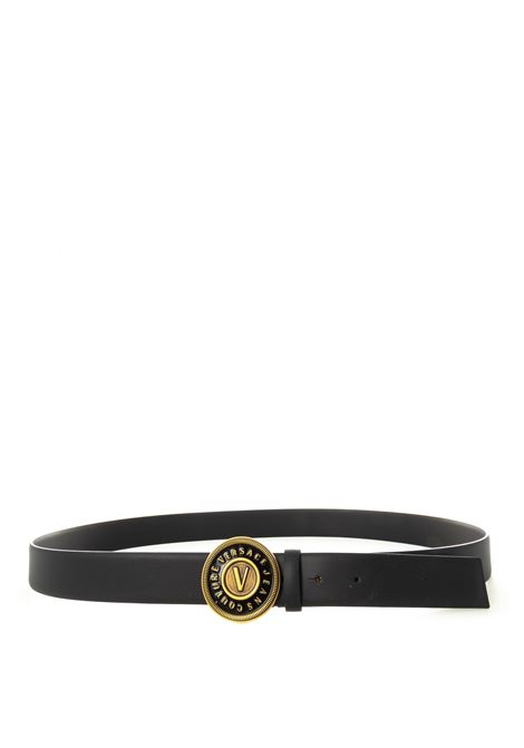 Versace jeans couture circle nero VERSACE JEANS COUTURE | Cinture | F1471627-899