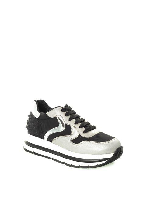 Sneaker maran argento VOILE BLANCHE | Sneakers | 2015229MARAN STUDS-1Q01