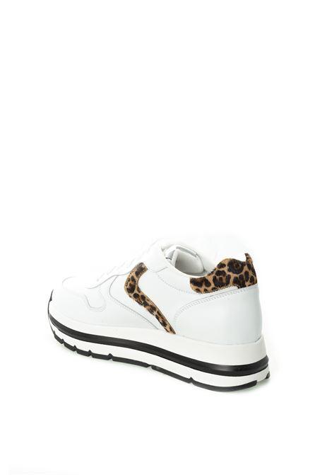 Sneaker maran bianco/leopard VOILE BLANCHE | Sneakers | 2015252MARAN-0N01