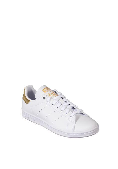Sneaker stan smith bianco/oro ADIDAS | Sneakers | G58184STAN SMITH-BIANCO/ORO