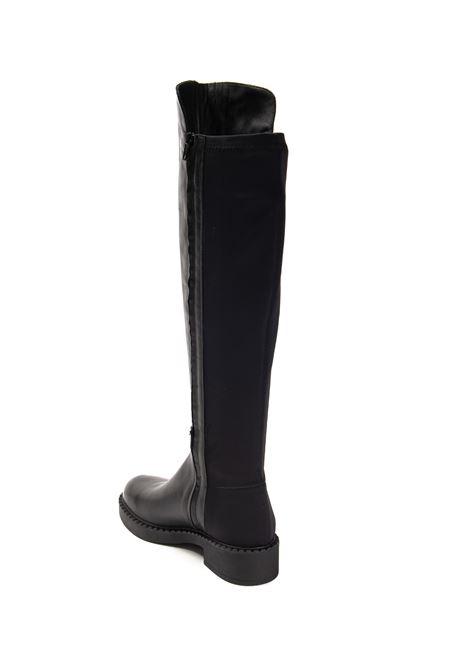 Stivale pelle/lycra nero ALBANO | Stivali | 1057VIT-NERO