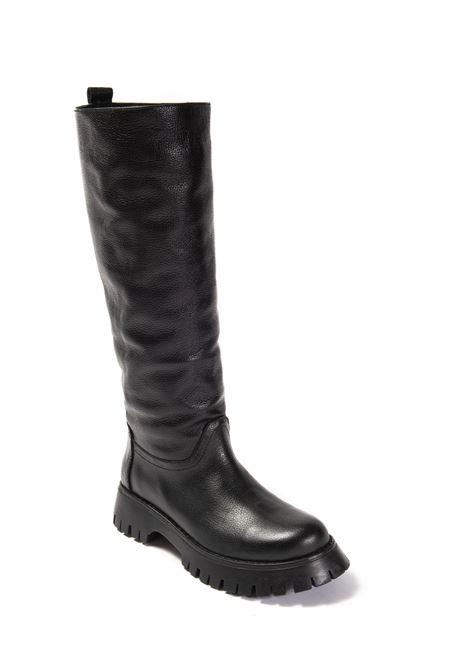 Stivale pelle nero ALBANO | Stivali | 1075BOTT-NERO