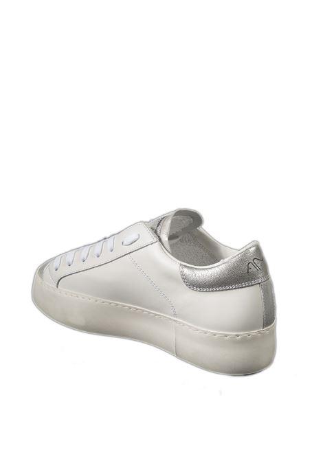 Sneaker pelle bianco/silver AMA BRAND DELUXE | Sneakers | 1906PELLE-BIANCO/ARGENTO