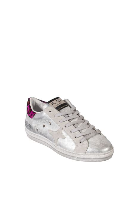 Sneaker pelle argento/fuxia AMA BRAND DELUXE | Sneakers | 1911PELLE-ARG/FUX