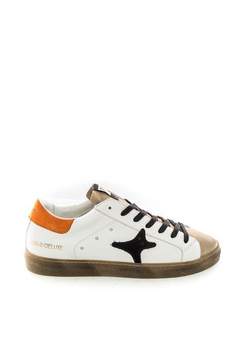 Sneaker bianco/arancio AMA BRAND DELUXE | Sneakers | 1939PEL/CAM-BIA/BEI/ARANC
