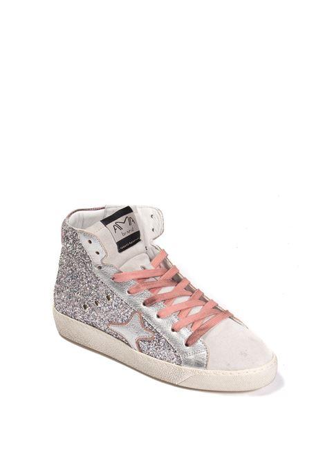 Sneaker mid glitter silver AMA BRAND DELUXE | Sneakers | 1951GLITTER-ARG/ROSA