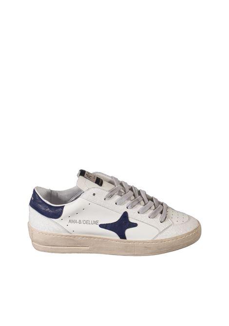 Sneaker deluxe bianco/blu AMA BRAND DELUXE | Sneakers | 1987PELLE-BIANCO/BLU
