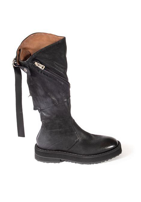 Stivale zip nero AS98 | Stivali | 58302PELLE-NERO