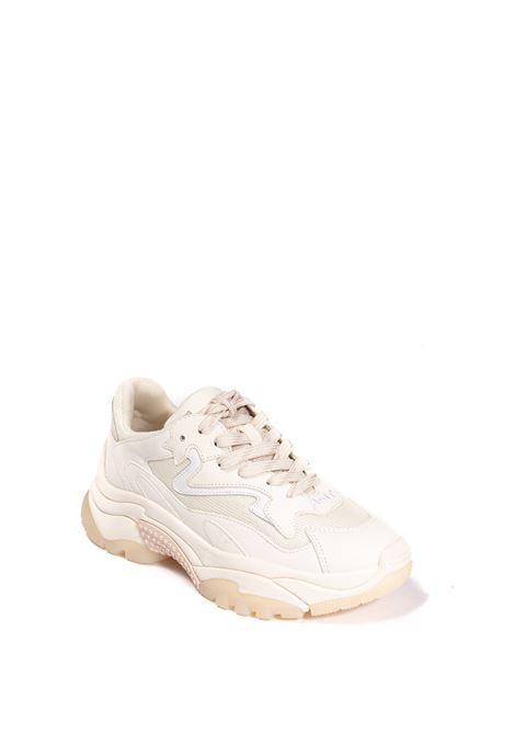 Sneaker addict bianco ASH | Sneakers | ADDICT01NUBUCK-PRI/SHELL/WHT